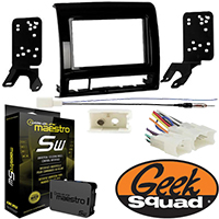 Double DIN Receiver Installation Package for 2012–2015 Toyota Tacoma — See below for applicable trim levels