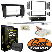 Double DIN Receiver Installation Package for 2013 Toyota Tundra Double Cab Without JBL