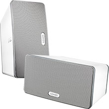 Sonos PLAY:3 Wireless Speakers (White) Package