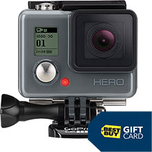 GoPro HERO HD Waterproof Action Camera and Free $10 Best Buy Gift Card
