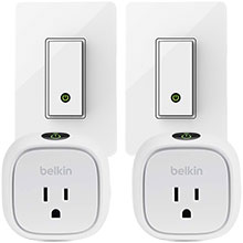 Two Belkin WeMo Light Switches and Two Belkin WeMo Insight Switches Package