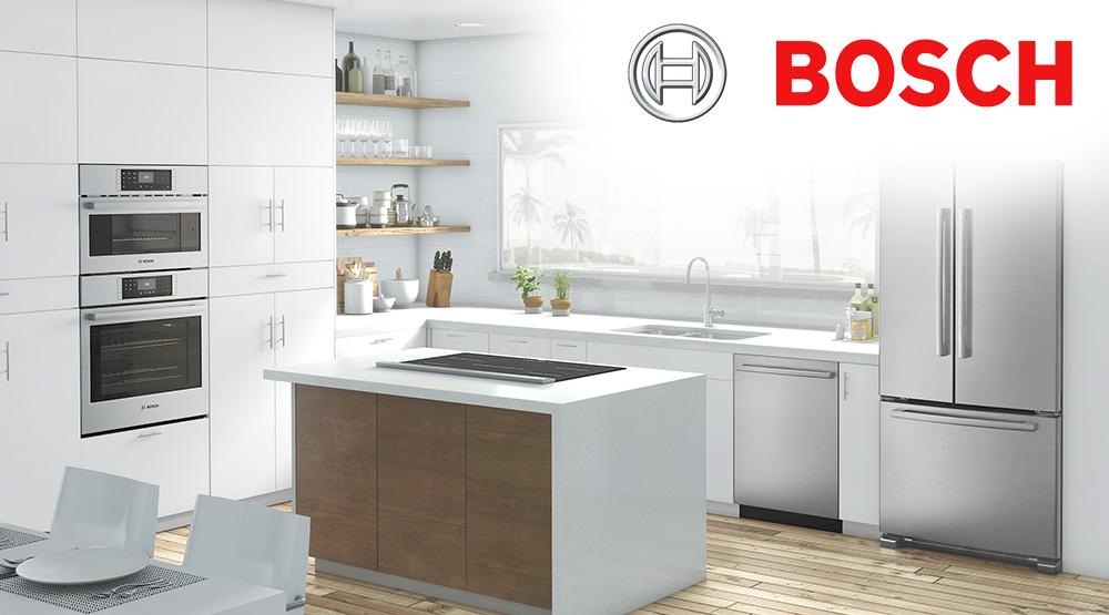 Kitchen with major appliances