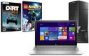 Laptop, desktop, games
