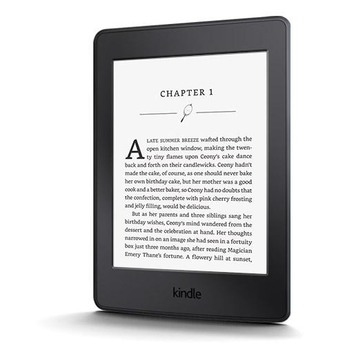 E reader, kindle paperwhite