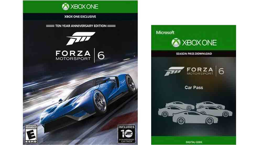 Forza Motorsport 6, Car Pass