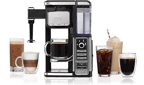 Coffee maker and drinks