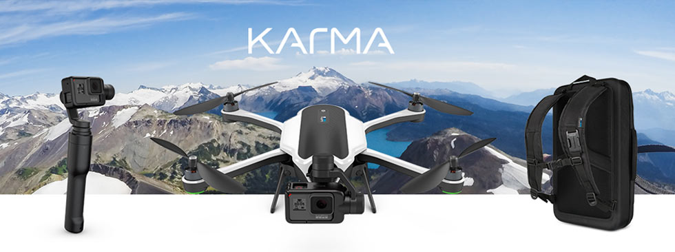 Karma, drone, mount, backpack