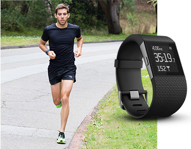 Fitness watch, fitbit surge