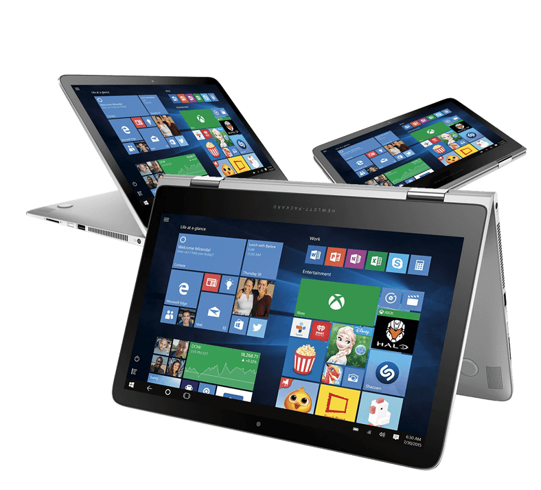 Intel 2-in-1 Laptops