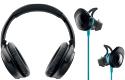 Bose headphones, earbuds