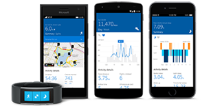 Activity tracker, cell phones