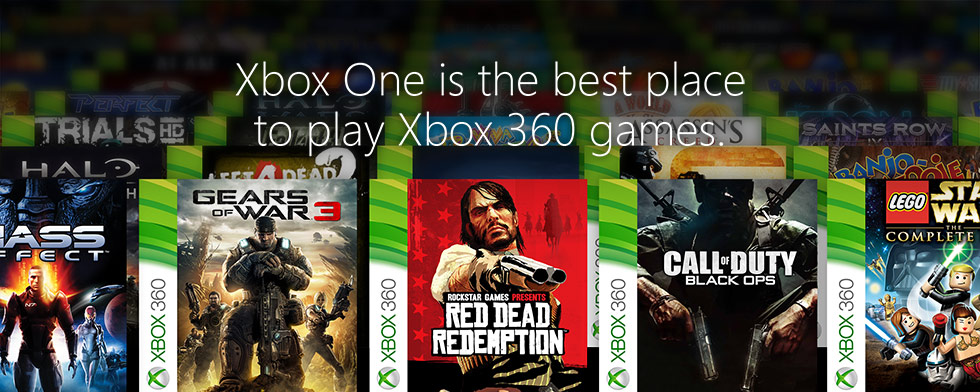 Xbox One is the best place to play Xbox 360 games.