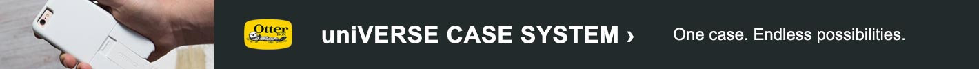 Universe Case System, One Case. Endless possibilities.