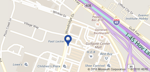 520 Gulfgate Center, TX. Open map in a new tab.