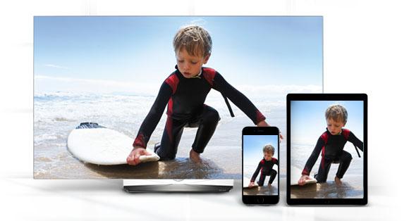 TV, iPhone, iPad