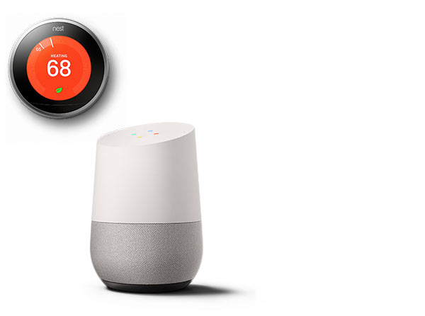 Thermostat, Google Home