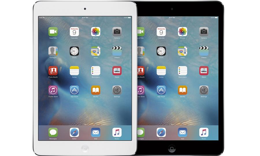 iPad Air 2 and iPad mini 4