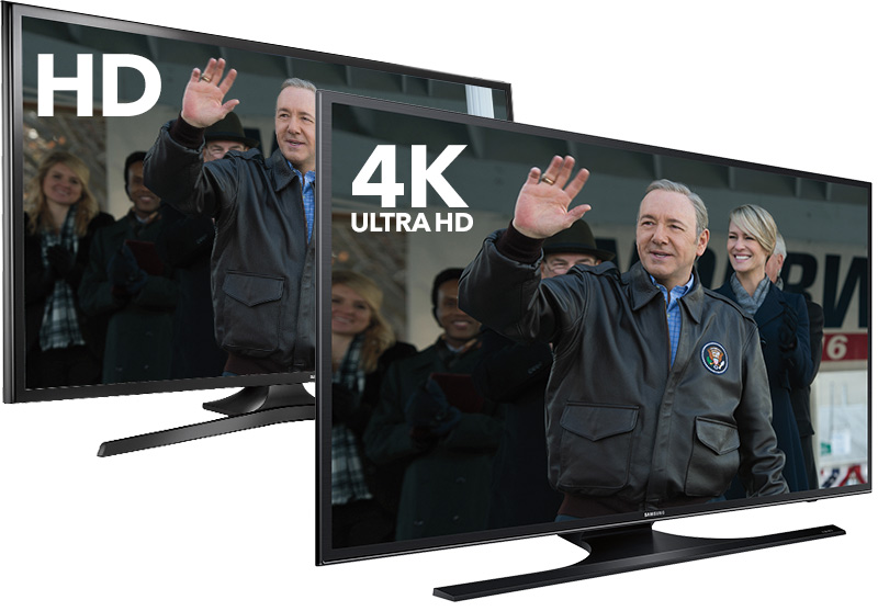 Works with both 4K Ultra HD TV and 1080p Full HD TV