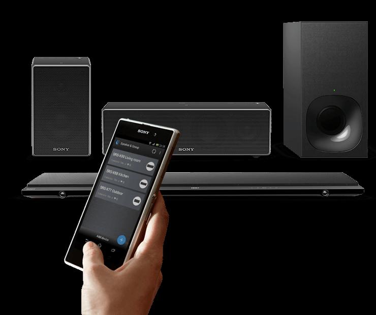 Wireless speaker system