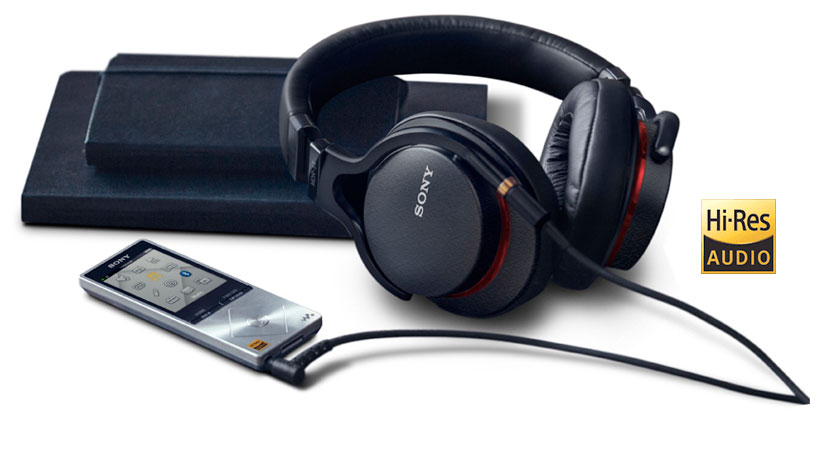 MP3 player, headphones