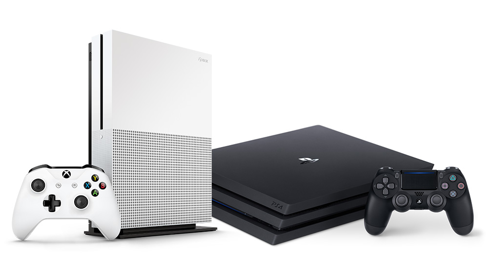 Xbox One S, PS4 Pro