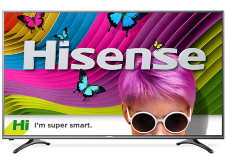 Hi I'm super smart, Hisense TV