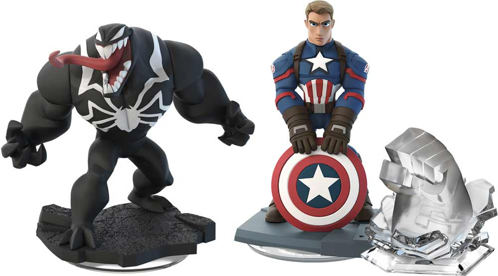 Marvel Battlegrounds play set, gaming figure