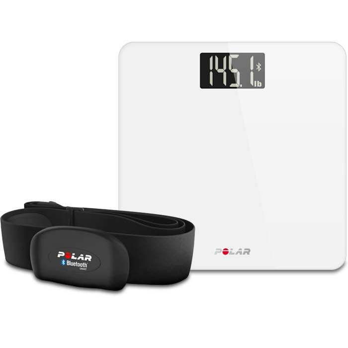 Heart rate sensor, scale