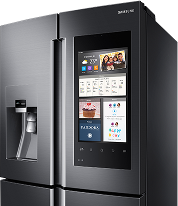 Fingerprint-Resistant Black Stainless Appliances