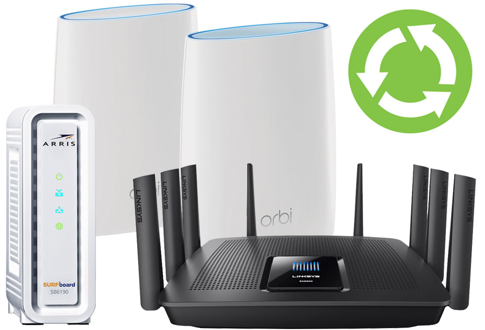 Wi Fi System Modem Router Recycle