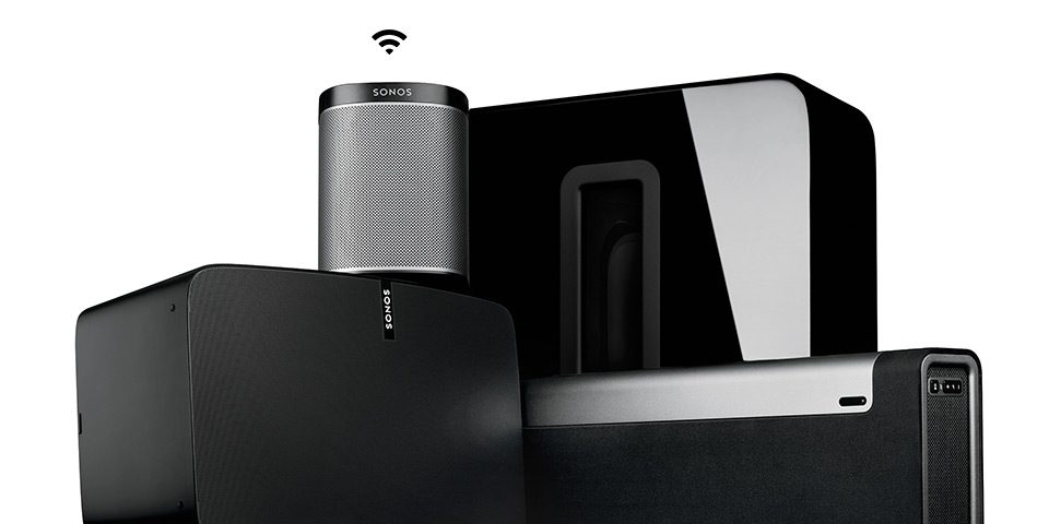 Speakers, Wi-Fi signal