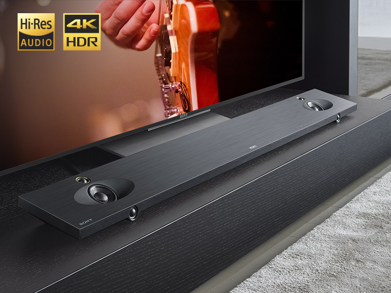 Sound bar, Hi-Res Audio, 4K HDR