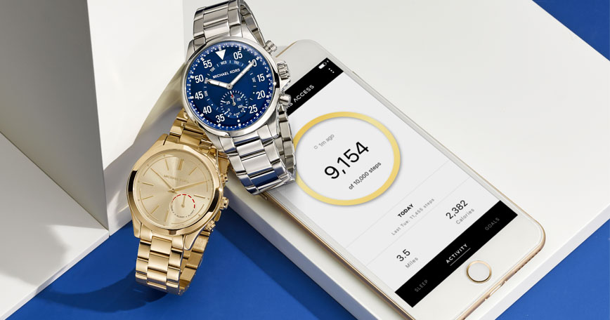Watches, cell phone
