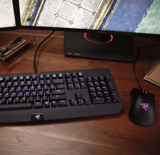 Desktop Keyboard and Mouse