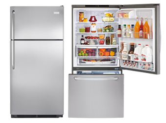Top Freezer And Bottom Refrigerators