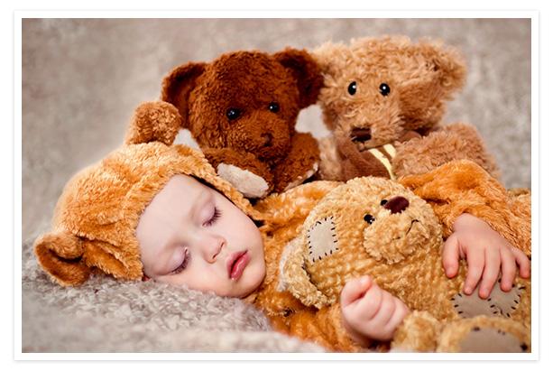 Sleeping children