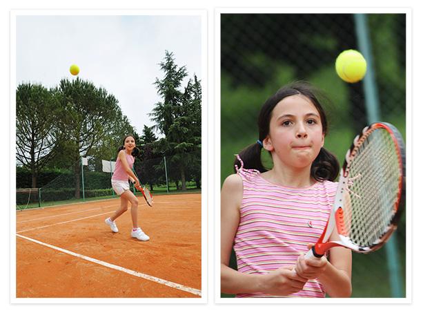 Girl kicking soccer ball, zoom shot of girl kicking ball