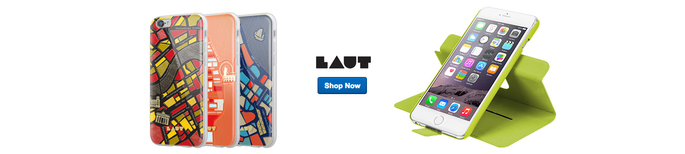 Laut cell phone cases. Shop Now.