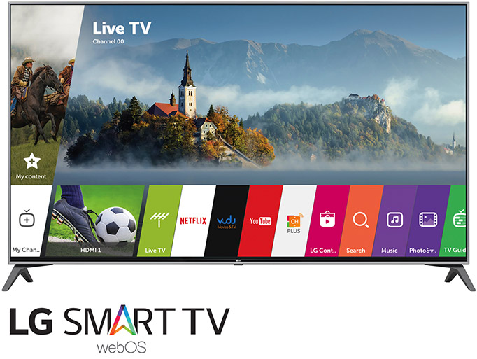 LG Smart TVs with webOS