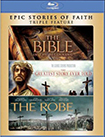 Bible / Greatest Story Ever Told / Robe (Blu-ray Disc) (3 Disc) 2293685
