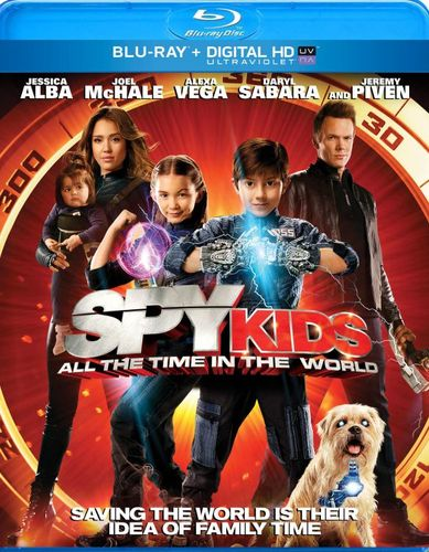 Spy Kids: All the Time in the World [Includes Digital Copy] [UltraViolet] [Blu-ray] [2011] 1000006
