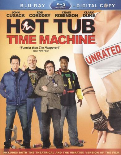Hot Tub Time Machine [Unrated] [2 Discs] [Includes Digital Copy] [Blu-ray] [2010] 1001121