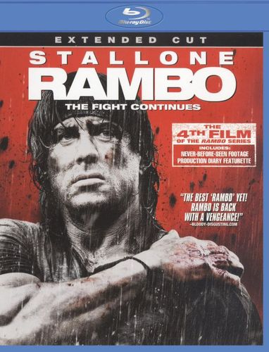 Rambo [Extended Cut] [Blu-ray] [2008] 1001149