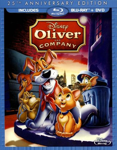 Oliver and Company [25th Anniversary Edition] [2 Discs] [Blu-ray] [1988] 1010147