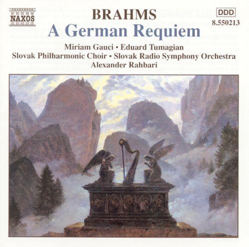 Brahms: A German Requiem [CD] 10181233