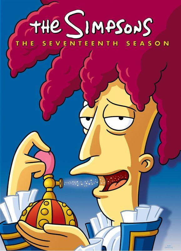 The Simpsons: The Seventeenth Season [4 Discs] [DVD] 1020017
