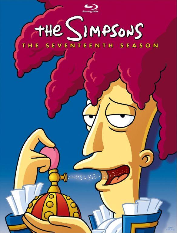 The Simpsons: The Seventeenth Season [4 Discs] [Blu-ray] 1020035