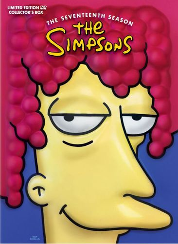 The Simpsons: The Seventeenth Season [4 Discs] [With Molded Head] [DVD] 1020044