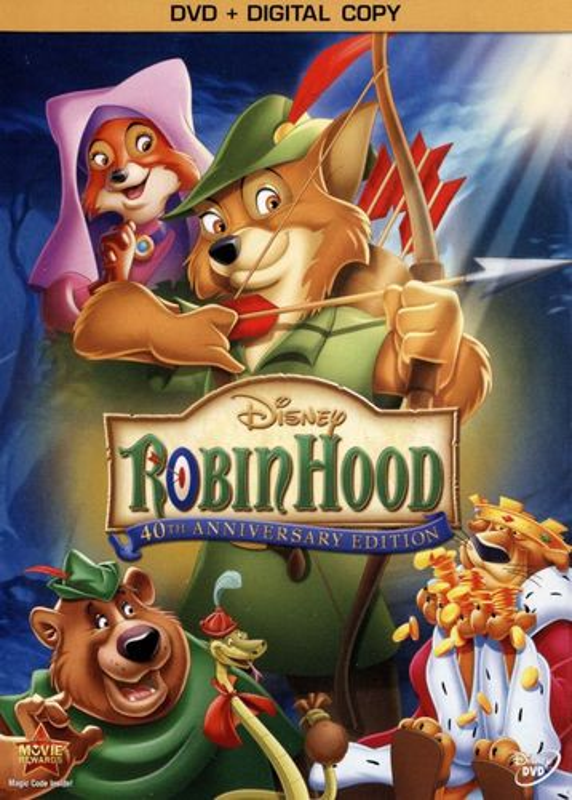 Robin Hood [40th Anniversary Edition] [DVD] [1973] 1021374