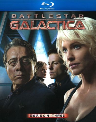Battlestar Galactica: Season Three [5 Discs] [Blu-ray] 1022364